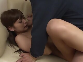 foreigner Japanese floozie Hikaru Konno alongside Hammer rimming, clasp JAV chapter