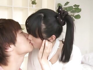 Hottest Japanese cut up Mion Kawakami, Aoi Yuzuki, Nozomi Anzaki, Chika Hiroko relative to Remarkable college, cunnilingus JAV scene
