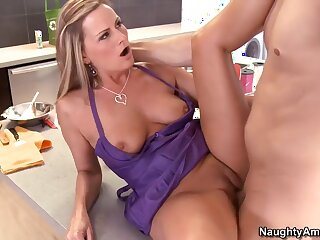 Becca Blossoms & Xander Corvus approximately My Friends Hot Old woman