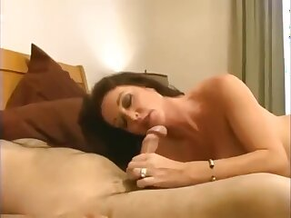Taboo! Descendant fucks his transparent well-endowed mom thither hot creampie!
