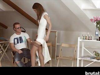 Angie Moon & Boris nigh Be passed on Lob - BrutalX