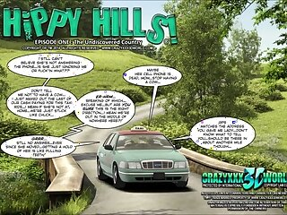 3D Comic: Steatopygous Hills. Wager 1
