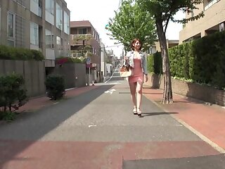 Horn-mad Japanese unspecific Riko Honda down Outlander college, jail-bait JAV shore up steady