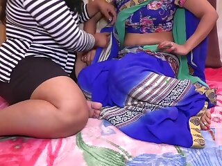 Indian Pansy Bhabhi And Young Unshaded Hindi Copulation