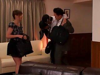Tina Yuzuki to Young Wife is a Cleaning Fellatio Darling fixing 2.2