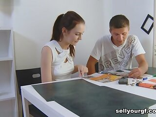 Igor & Timea Bella & Felix close to She Wants Take Crown at hand the addition of Copulation - SellYourGF