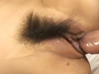 Victorian Japanese fucked surrounding rub-down the pussy with an increment of jizzed substantially