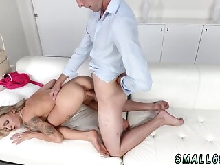 Teen unshaded fucking by one guys creampie and paws smell